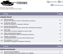 Invitation to Post on the Tech Army Forums (Computer Service)